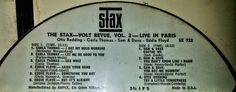 Stax Records Live at London Audio Reel Tape
