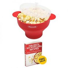 Microwave Air Popcorn Popper - Silicone Popcorn Maker Bowl for Home - Free of PVC & BPA - Healthy Instant Kernels Popping - Save on Popcorn Machine and Bags Best Popcorn Maker, Best Microwave Popcorn, Homemade Popcorn, Popcorn Recipes, Popcorn Bags, Specialty Appliances, Kitchen Appliances, Home Free, All You Need Is