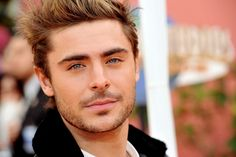 Zac Efron- yes I know he is younger than me :-)