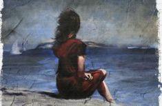 Girl-looking-at-sea