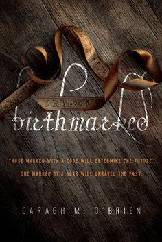 Birthmarked (Birthmarked #1) by Caragh M. O'Brien. In a future world baked dry by the sun and divided into those who live inside the wall and those who live outside it, sixteen-year-old midwife Gaia Stone is forced into a difficult choice when her parents are arrested and taken into the city. - I loved this series!