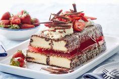 Aussie lamington cake