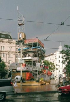 Fattinger Orso Architektur  ADD ON. 20 HÖHENMETER 1200 VIENNA, A , 2005 DURATION: 17.06.2005 - 31.07.2005 TEMPORARY INSTALLATION IN PUBLIC SPACE IN COLLABORATION WITH: ...