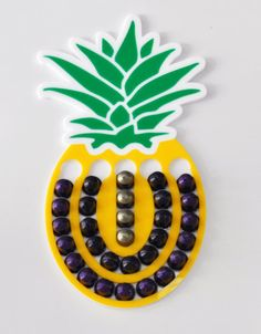 Pineapple Magnetic Nespresso coffee Capsules Holder by mysheyne