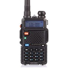 BaoFeng UV5R Dual Band Two Way Radio Black *** Read more reviews of the product by visiting the link on the image.