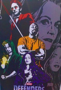 The Defenders : Le premier poster de la série ! - Les Toiles Héroïques