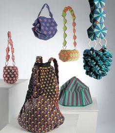 Maori Kimura Pop Up Origami Bags #fashion #papercraft #origami