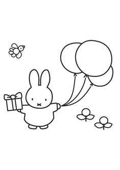 Miffy color page cartoon characters coloring pages, color plate, coloring sheet,printable coloring picture Make your world more colorful with free printable coloring pages from italks. Our free coloring pages for adults and kids. Free Printable Coloring Pages, Coloring For Kids, Coloring Pages For Kids, Coloring Sheets, Coloring Books, Kids Cartoon Characters, Miffy, Happy B Day, Colorful Drawings