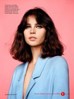 Fashionistas World: Felicity Jones for Vogue UK