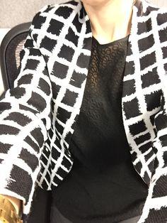 Black and White Professional Business Blazer