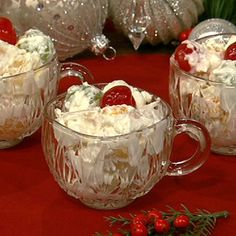 """Ambrosia Salad ... See EASY recipe ... the hardest  and longest part of this whole recipe is the """" CHILLIN"""" and waiting....lol"""