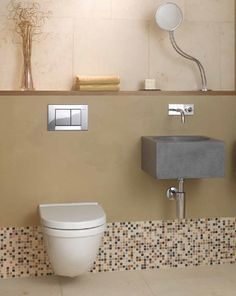 Geberit in-wall carrier systems are a great choice for wall-hung toilets