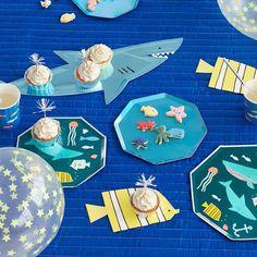 Servetten Under the Sea Meri Meri ✓ Under the Sea ✓ Meri Meri ✓ The feestjes ✓ Voor besteld, morgen in huis! Under The Sea Party, Party Themes, Kids Rugs, Ocean, Products, Kid Friendly Rugs, The Ocean, Sea, Gadget