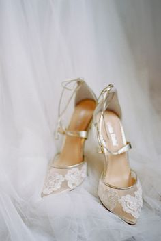 Moody Castle Bridal Inspiration - wedding shoes