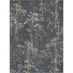 Concord Global Manhattan Blue Rectangular Indoor Woven Area Rug (Common: 9 X 13; Actual: 9.25-Ft W X 12.5-Ft L X 9.25-Ft