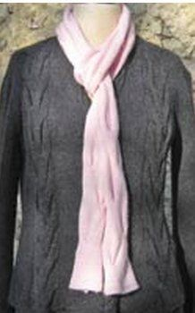 Looking for classic #knit scarf patterns that are feminine and striking? Let us introduce you to this beautiful Allegras scarf from knitwear designer Carol Sunday. Made up mostly of the basic stockinette stitch, this timeless pattern features wide, alternating cables. The final result creates a scarf with tiny puckers, similar to the high fashion scarves found in the store. Get this popular look for much less by making your own unique accessory.