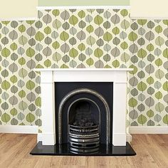 Wide range of Decor available to buy today at Dunelm, the UK's largest homewares and soft furnishings store. Order now for a fast home delivery or reserve in store. Green Wallpaper, Soft Furnishings, Shades Of Green, Creative Inspiration, Home Improvement, New Homes, Living Room, Interior, House Ideas