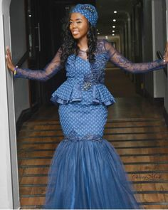 Stunning Shweshwe Dresses 2019 for African Girls - Reny styles Stunning Shweshwe Dresses The Shweshwe Dresses is abundant admired in this allotment of the world, I beggarly it is the best bolt and I apperceive South African Dresses, Latest African Fashion Dresses, African Dresses For Women, African Men, Setswana Traditional Dresses, South African Traditional Dresses, African Wedding Attire, African Attire, African Outfits