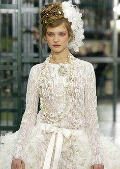 Alta Costura de Chanel, primavera-verano 2003 (Natalia Vodianova)