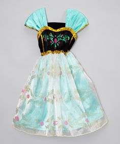 Look what I found on #zulily! Teal Princess Dress - Toddler & Girls by Just Couture #zulilyfinds