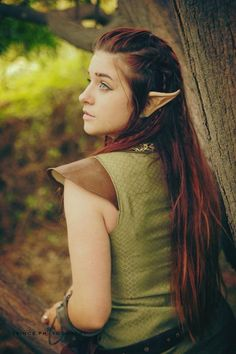 Casual Wood Elf Hairstyle