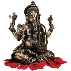 Om gam Ganapataye Namaha Hindu god Ganesha sculpture
