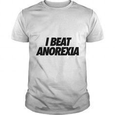 Cool NICE T-SHIRT I Beat Anorexia Hoodies - Men's Premium T-Shirt Shirts & Tees