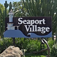 Visitor's Guide to Seaport Village in San Diego: Seaport Village Entrance