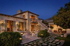 adelaparvu.com despre casa in stil mediteranean, arhitectura Ozar Architects, design interior Karen Rapp Interiors (19)