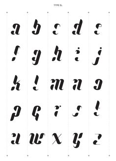 Typography / Lullaby Font on Typography Served