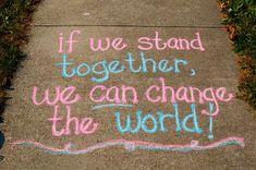 Blómstrandi dagar Divine Diva Inspiration: Sidewalk Chalk Project Inspiring The World One Quote At Chalk Art Blómstrandi Chalk Chalk art inspiration dagar Diva Divine Inspiration inspiring Project quote Sidewalk world Chalk Design, Art Design, Chalk Art Quotes, 3d Chalk Art, Sidewalk Chalk Art, Sidewalk Ideas, Vsco, Chalk It Up, Chalk Board