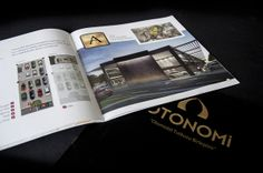 Catalogue for Otonomi by Melis Sertoğlu, via Behance