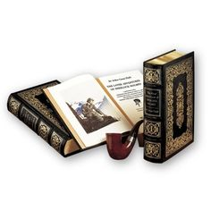 The Complete Sherlock Holmes by Arthur Conan Doyle. Bound in leather and published by Easton Press. Any one whos owned an Easton Press book will know they are nothing short of luxurious!