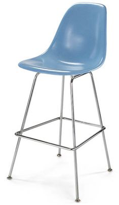 "Modernica Counter Stool 25"" seat height - molded fiberglass shell chair counter stool at www.Accurato.us"