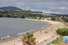 Playa de Miño: Con el día que hace ...
