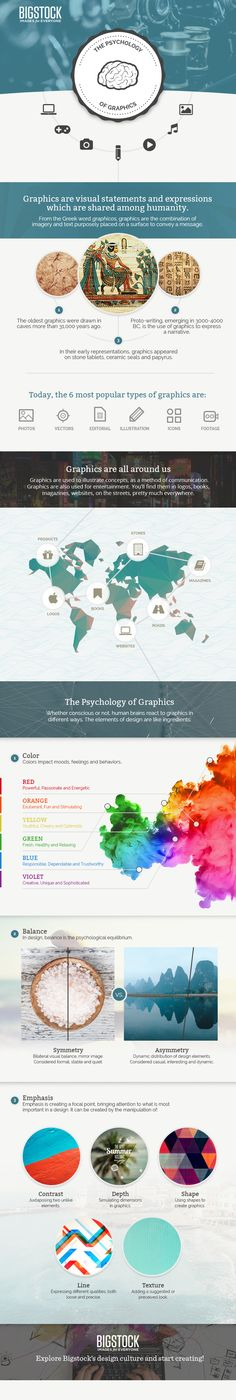 Infographic: The Psychology of Graphics — Bigstock Blog
