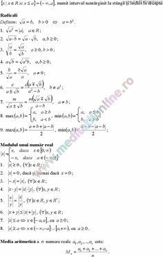 Formule matematica gimnaziu 5 8 Formule si teorie Algebra clasele 5 8 pagina 5 Math Formulas, Algebra, Desktop, Abs, Math Equations, Words, Geometry, Crunches, Maths Formulas