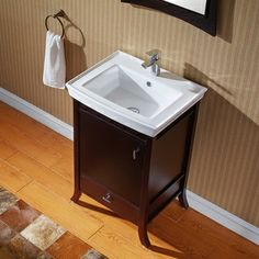 Best Photo Gallery Websites Virtu USA Summer Grove inch Single Sink Espresso Vanity with Ceramic Countertop Overstock