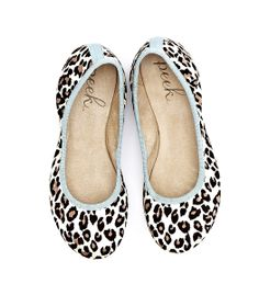 A combination of two of my favorite things: leopard print and flats! :)