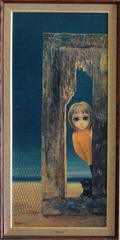 """The Lookout"" - Margaret Keane, 1962"