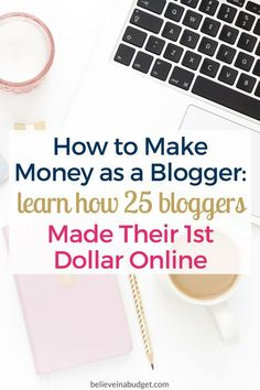 Want to learn how bloggers made their first paycheck online? These 25 bloggers are sharing exactly how they made their first online income. If you have been wanting to blog for profit, this post will help you get started making money online!
