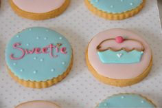 Cookies decorated w/royal icing