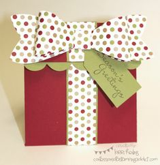 Present Gift Card Holder by LorriHeiling - Cards and Paper Crafts at Splitcoaststampers