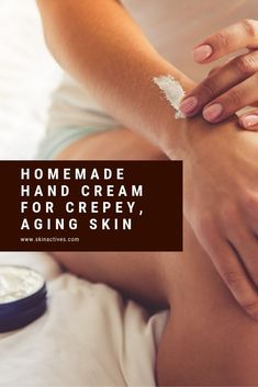 Take care of your hands like you take care of your face with this DIY Homemade Hand Lotion. Get younger and softer looking hands. Diy Lotion, Hand Lotion, Lotion Bars, Lotion Recipe, Dry Skin On Face, Diy Beauty, Beauty Tips, Homemade Beauty Products, Beauty Recipe