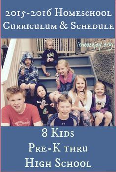 My most popular post of each year is now up: our 2015-16 Homeschool Curriculum Choices and Schedule, along with 2 free Verse of the Year printables available for download.