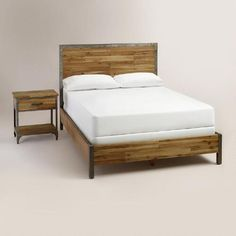 One of my favorite discoveries at WorldMarket.com: Aiden Bedroom Collection