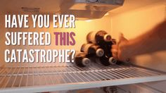 Fit more bottles into your fridge using a binder clip. | 37 Ways To Have A Dorm Room The Whole Floor Will Be Jealous Of