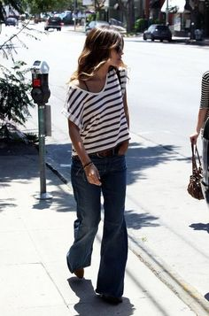Rachel Bilson style. CAbi style it with the Lifeboat Tee and Zoe Jeans. #cabispring2014
