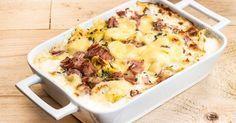 Ταλιατέλες 4 τυρια από την Αργυρώ Μπαρμπαρίγου Mashed Potatoes, Macaroni And Cheese, Ethnic Recipes, Food, Whipped Potatoes, Mac And Cheese, Smash Potatoes, Meals, Yemek