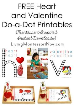 Activities - Language Archives - Living Montessori Now Valentines Day Activities, Valentines For Kids, Writing Activities, Valentine Ideas, Valentine Crafts, Toddler Activities, Human Body Unit, Human Human, Sensory Language